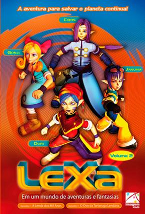 Capa do filme 'Lexa - Em um mundo de aventuras e fantasias - Vol.2'