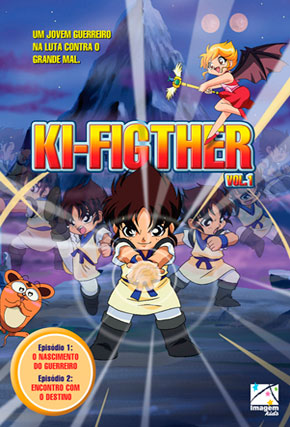Capa do filme 'Ki-Figther'