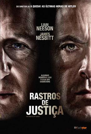 Capa do filme 'Rastros de Justiça'
