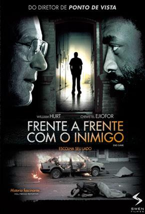 Capa do filme 'Frente a Frente com o Inimigo'
