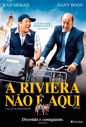 Capa do filme 'A Riviera Não é Aqui'