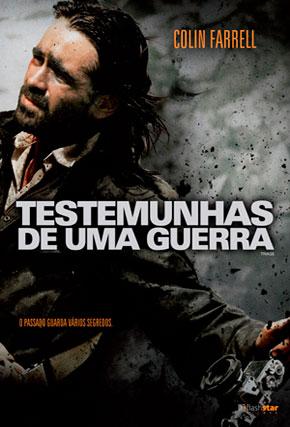 Capa do filme 'Testemunhas de uma Guerra'