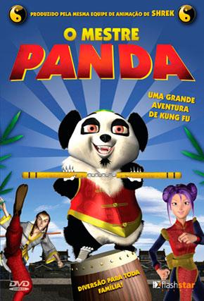 Capa do filme 'O Mestre Panda'