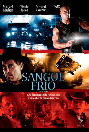 Capa do filme 'Sangue Frio'