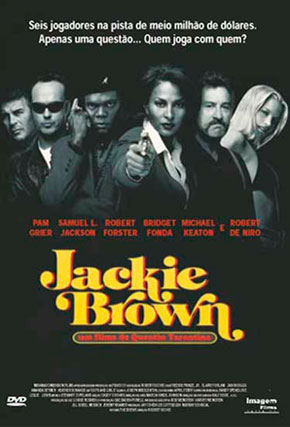 Capa do filme 'Jackie Brown'