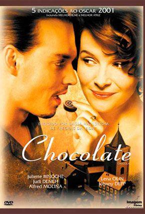 Capa do filme 'Chocolate'