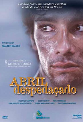 Capa do filme 'Abril Despedaçado'