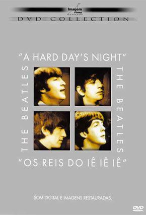 Capa do filme 'The Beatles - Os Reis do Iê Iê'