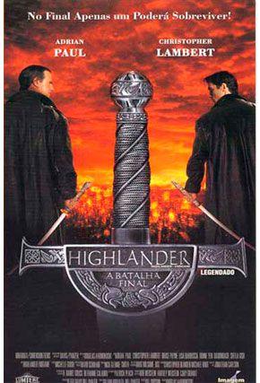 Capa do filme 'Highlander'