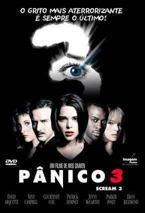 Capa do filme 'Pânico 3'