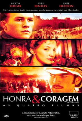 Capa do filme 'Honra e Coragem'
