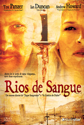 Capa do filme 'Rios de Sangue'