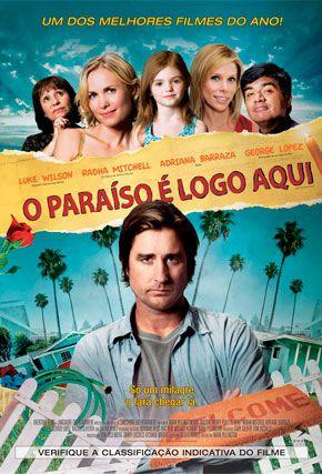 Capa do filme 'O Paraíso é Logo Aqui'