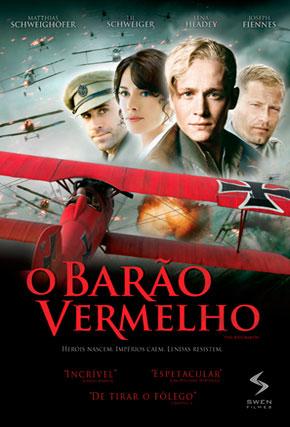 Capa do filme 'O Barão Vermelho'