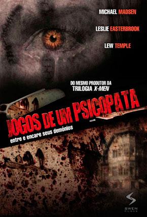 Capa do filme 'Jogos de Um Psicopata'
