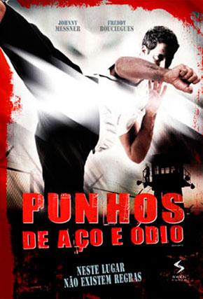 Capa do filme 'Punhos de Aço e Ódio'