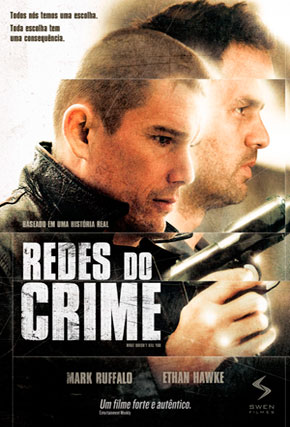 Capa do filme 'Redes do Crime'