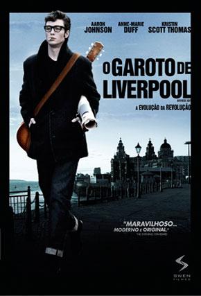 Capa do filme 'O Garoto de Liverpool'