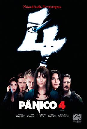Capa do filme 'Pânico 4'