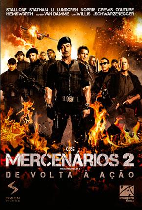 Capa do filme 'Os Mercenários 2'