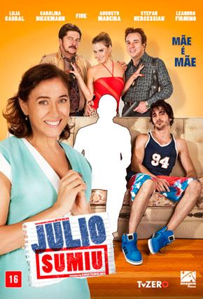 Capa do filme 'Julio Sumiu'