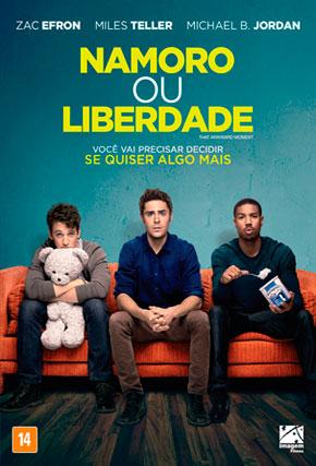 Capa do filme 'Namoro ou Liberdade'