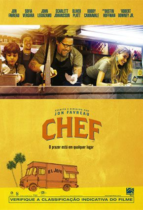 Capa do filme 'Chef'