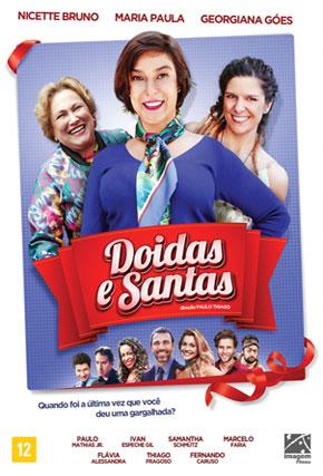 Capa do filme 'Doidas e Santas'