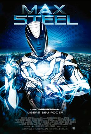 Capa do filme 'Max Steel'
