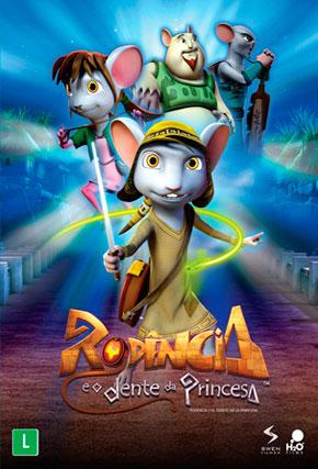 Capa do filme 'Rodencia e o Dente da Princesa'
