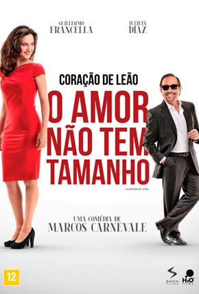 Capa do filme 'Coracao de Leao O Amor Nao Tem Tamanho'