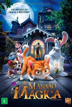 Capa do filme 'A Mansão Mágica'
