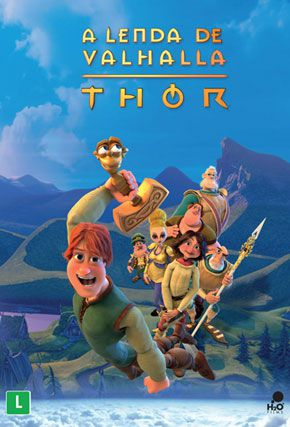 Capa do filme 'A Lenda de Valhalla - Thor'