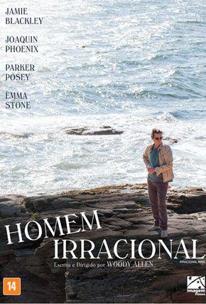 Capa do filme 'Homem Irracional'