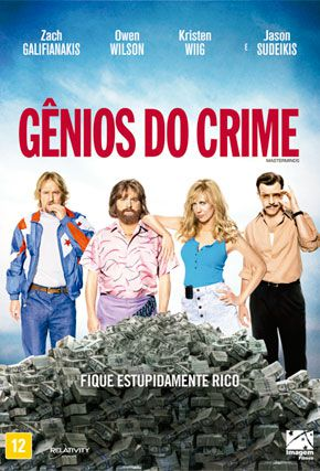 Capa do filme 'Gênios do Crime'