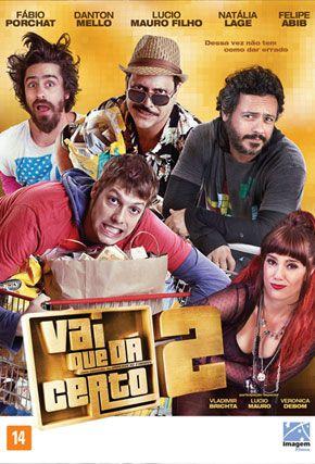 Capa do filme 'Vai Que Dá Certo 2'