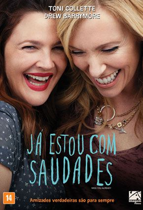 Capa do filme 'Já Estou Com Saudades'