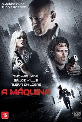 Capa do filme 'A Máquina'