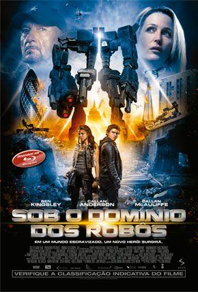 Capa do filme 'Sob o Domínio dos Robôs'