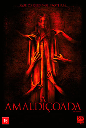 Capa do filme 'A Amaldiçoada'