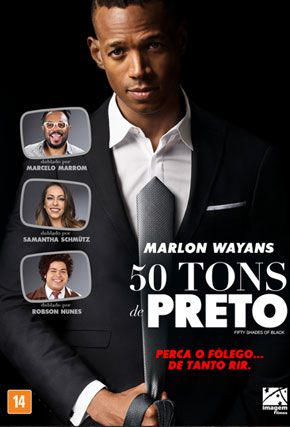 Capa do filme '50 Tons de Preto'