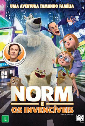 Capa do filme 'Norm e os Invencíveis'