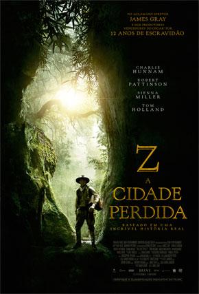 Capa do filme 'Z - A Cidade Perdida'