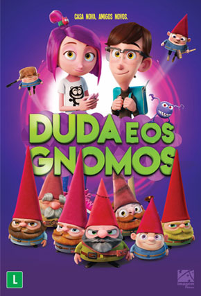 Capa do filme 'Duda e os Gnomos'