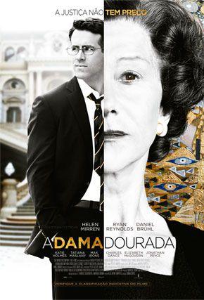 Capa do filme 'A Dama Dourada'