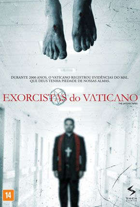 Capa do filme 'Exorcistas do Vaticano'