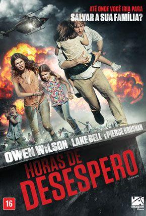 Capa do filme 'Horas de Desespero'