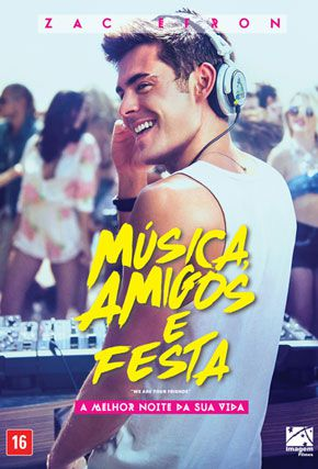 Capa do filme 'Música, Amigos e Festa'