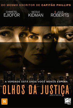 Capa do filme 'Olhos da Justiça'