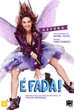 Capa do filme 'É Fada'